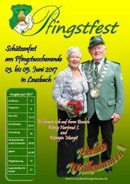Festzeitung Schützenverein Leuzbach-Bergenhausen 2017
