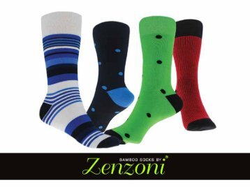 Bamboo Socks by Zenzoni
