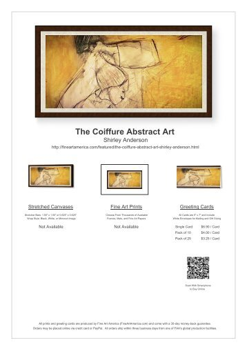 THE COIFFURE ABSTRACT ART