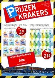 Prijzenkrakers Juni