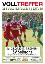 12. Ausgabe Stadionzeitung 2016/17