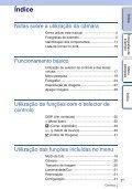 Sony NEX-5K - NEX-5K Guide pratique Portugais - Page 3