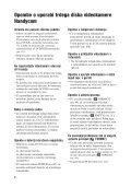 Sony DCR-SR32E - DCR-SR32E Mode d'emploi Slovénien - Page 4