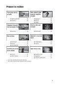 Sony DCR-SR32E - DCR-SR32E Mode d'emploi Slovénien - Page 7