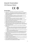 Sony SVE1511M1E - SVE1511M1E Documents de garantie Turc - Page 5