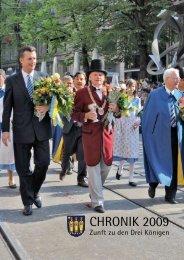 Download Chronik 2009 (PDF: 6.7 MB) - Zunft zu den drei Königen