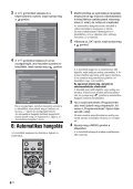 Sony KDL-26S2030 - KDL-26S2030 Mode d'emploi Hongrois - Page 6