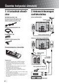 Sony KDL-26S2000 - KDL-26S2000 Istruzioni per l'uso Ungherese - Page 4