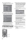 Sony KDL-26S2000 - KDL-26S2000 Istruzioni per l'uso Ungherese - Page 6