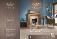 There is a fire in the Wonderfire Premier range to suit all tastes, from ...