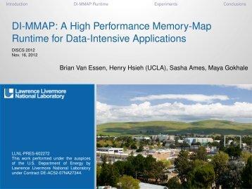 DI-MMAP - Data-Intensive Scalable Computing Laboratory (DISCL)