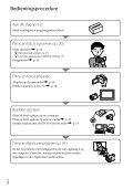 Sony HDR-CX116E - HDR-CX116E Consignes d'utilisation Néerlandais - Page 6
