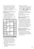Sony HDR-CX116E - HDR-CX116E Consignes d'utilisation Grec - Page 5