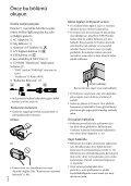 Sony HDR-CX116E - HDR-CX116E Consignes d'utilisation Turc - Page 2