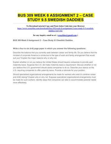 case study alcoa