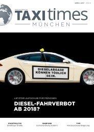 Taxi Times München April 2017