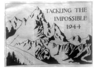 tackling the impossible