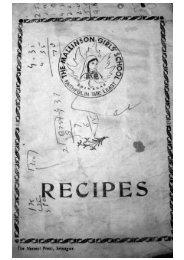 Mallinson Recipes
