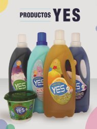 Catalogo de Productos Yes (D)