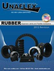 Rubber Expansion Joint Catalog 03 10 2011 - Unaflex Inc.