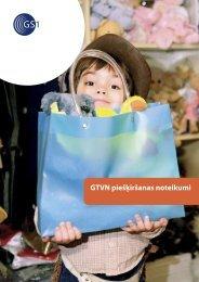 GTVN piešķiršanas noteikumi - GS1 Latvija
