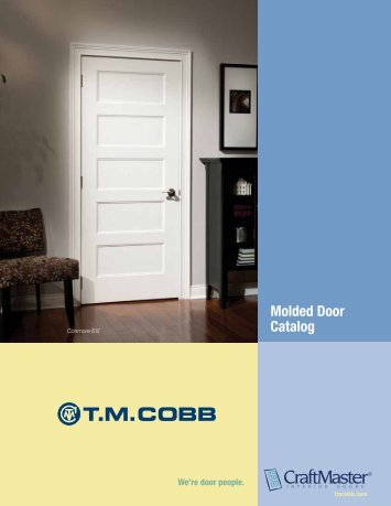 Molded Door Catalog - T.M. Cobb & Interior Door Catalog - CraftMaster Interior Doors