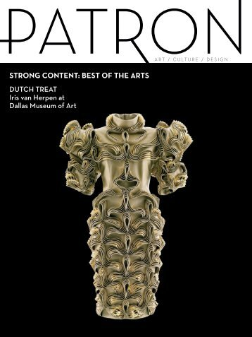 Patron Magazine June/July Issue: BEST OF THE ARTS