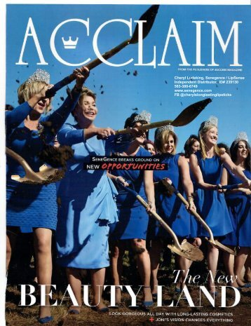Acclaim 2017, scan by Cheryl Ludeking, Senegence ID# 239130