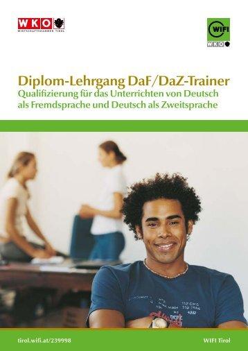 Deutsch als Fremdsprache/Zweitsprache