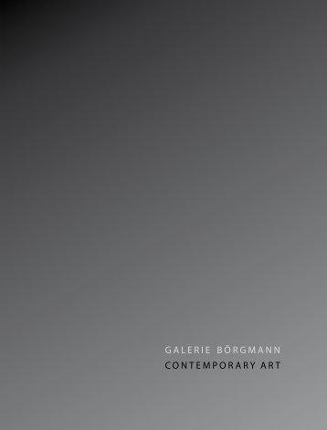 Robert Sebastian Berger - Galerie Börgmann