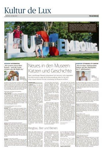 Kultur de Lux - Mai 2017