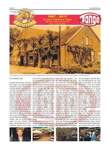 Tange | Bürgerspiegel