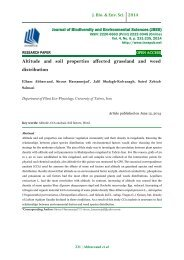 Altitude and soil properties affected grassland and weed distribution