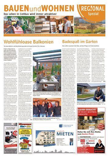 Regional Spezial - Bauen und Wohnen, Ausgabe Cottbus