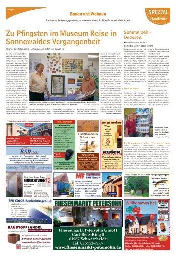 Regional Spezial - Bauen und Wohnen, Ausgabe Finsterwalde