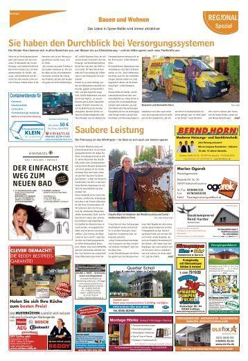 Regioanl Spezial - Bauen und Wohnen, Ausgabe Forst