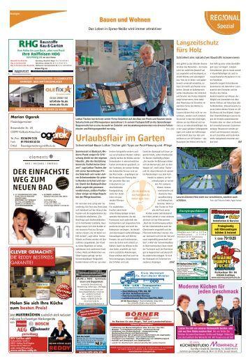 Regional Spezial - Bauen und Wohnen, Ausgabe Spremberg
