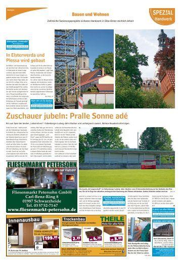 Regional Spezial - Bauen und Wohnen, Ausgabe Bad Liebenwerda