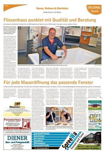 Regional Spezial - Bauen und Wohnen, Ausgabe Calau