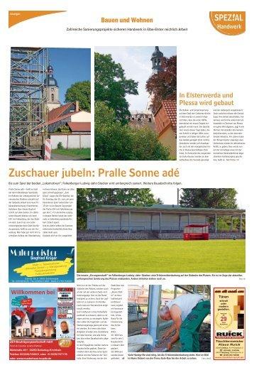 Regional Spezial - Bauen und Wohnen, Ausgabe Herzberg