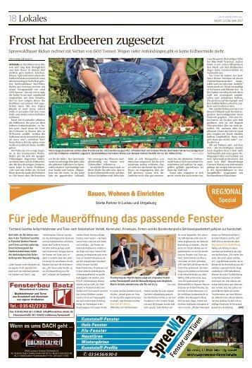 Regional Spezial - Bauen und Wohnen, Ausgabe Luckau