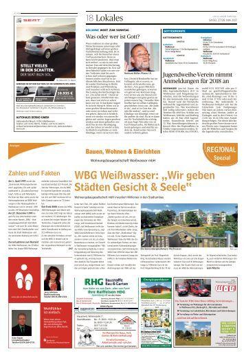 Regional Spezial - Bauen und Wohnen, Ausgabe Weißwasser
