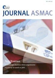 Journal ASMAC No 2 - Avril 2017