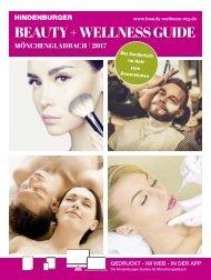 Beauty + Wellness Guide Mönchengladbach 2017