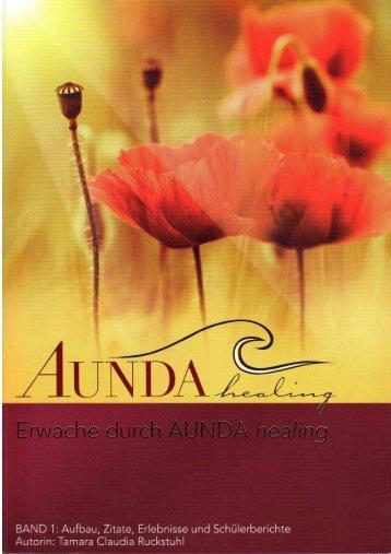 Buch AUNDA healing - Erwache durch...