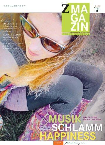 zett Magazin Juni / Juli