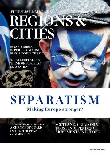 Separatism: Making Europe stronger?
