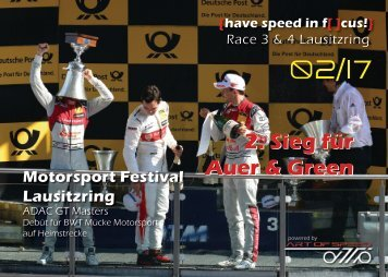 {have speed in f[ ]cus!} DTM Race 3 & 4 Lausitzring 2017