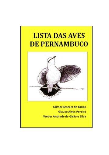 lista das aves de pernambuco - OAP - Observadores de Aves de ...