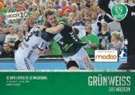 GRÜNWEISS – das Magazin der DHfK-Handballer – Heft 17 – Saison 2016/17